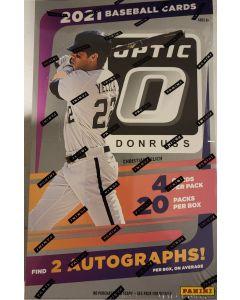 2021 Optic Baseball Hobby Box 20 packs/ 2 Autos a box on average