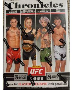 2021 UFC Blaster box 8 packs/box 5 cards pack